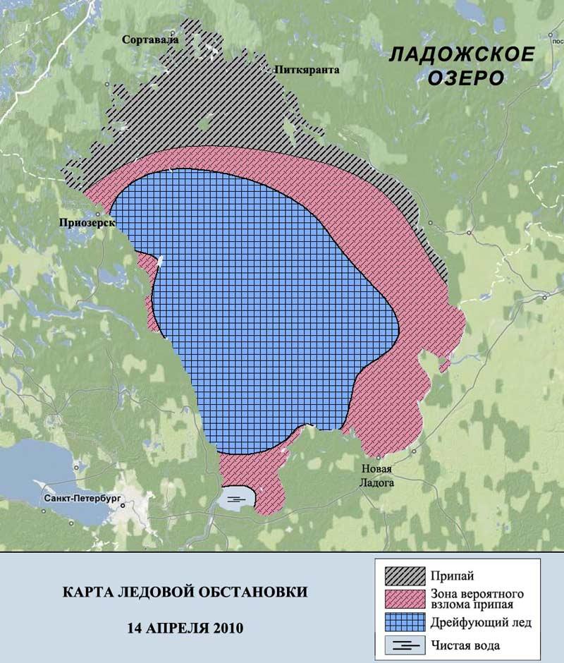Ежедневный прогноз возникновения и развития чрезвычайных ситуаций на территории сзфо на 26 февраля 2016